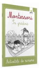 Montessori.  In gradina -...
